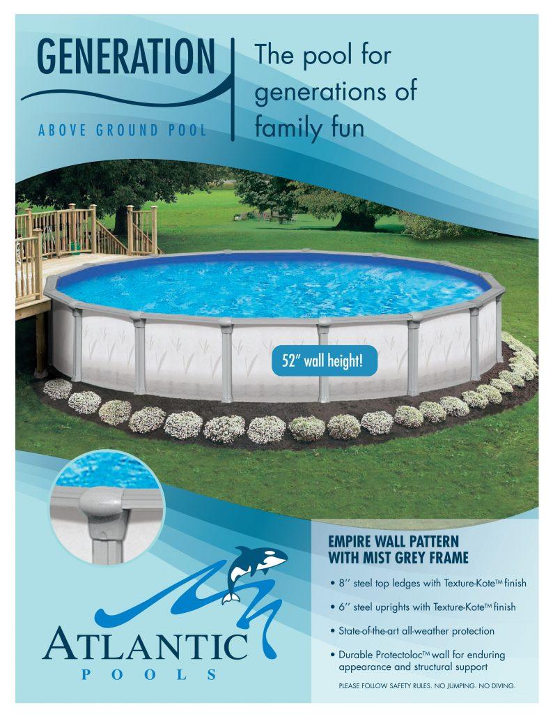 Generation Above Ground Pool