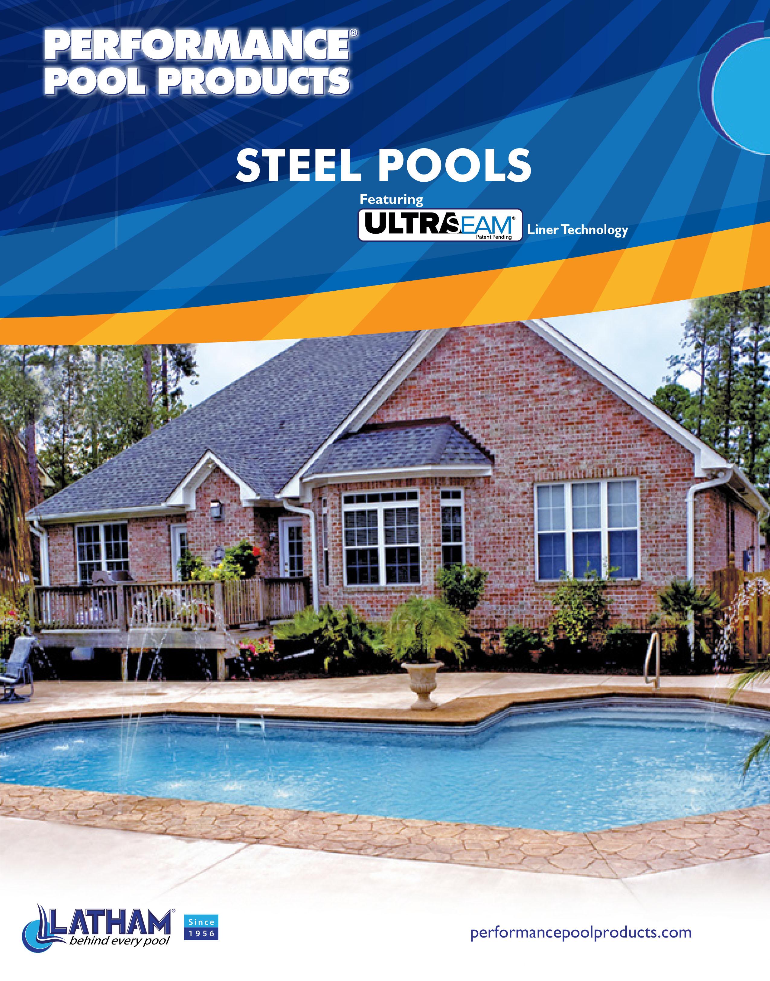 Performance Pool Products Steel Brochure