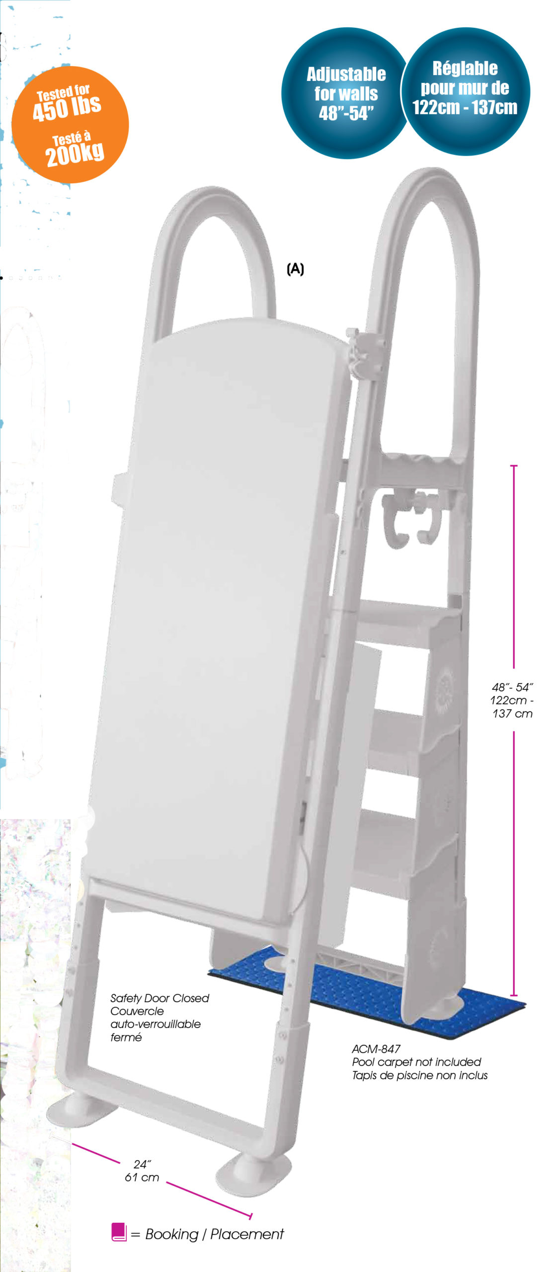Above Ground Aframe Ladder